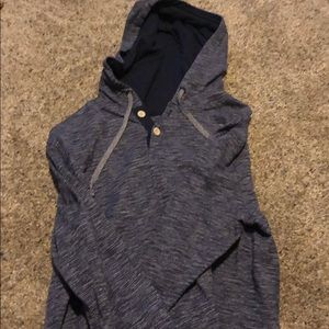 Light Weight Blue Hoodie